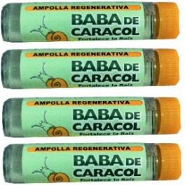 Baba de Caracol  Ampules (4 ampules)