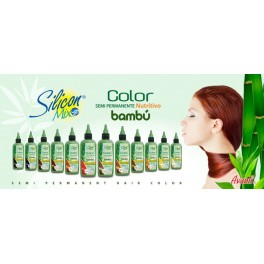 Silicone Mix  Bamboo  Semi Permanent Hair Color