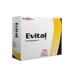 EVITAL ANTICONCEPTIVO 4 BOXES 8 PILLS