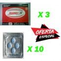 Mambo 36 x 3 Boxes (30 pills) Sildenafil x10 Pack (4Pills)